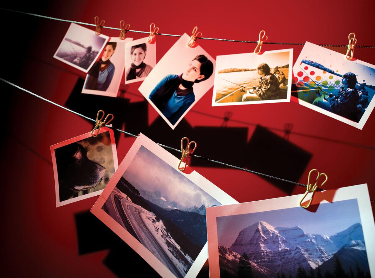 Фото-услуги открытки, девушки коллеги днем
